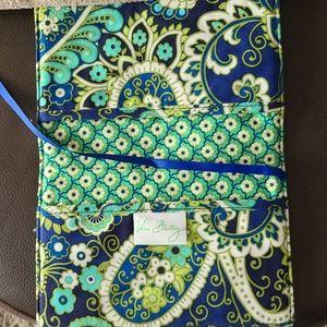 Vera Bradley small book cover case